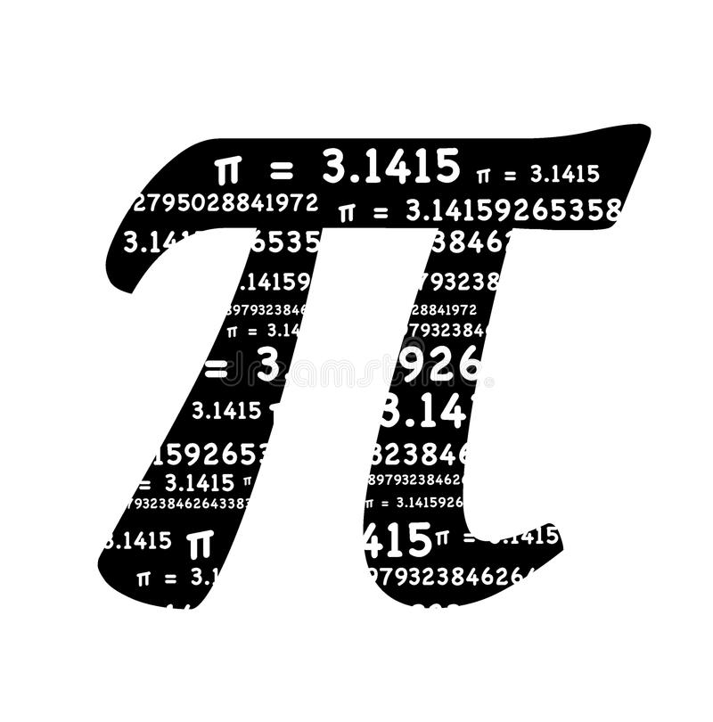 symbole de pi illustration de vecteur