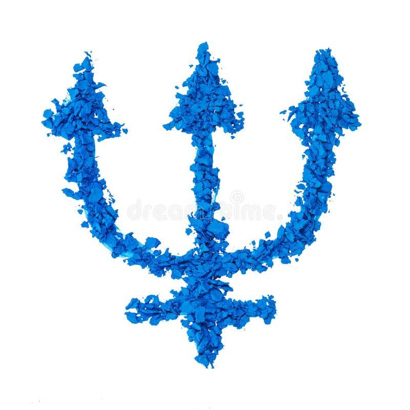 Symbole de planète de Neptune photographie stock libre de droits