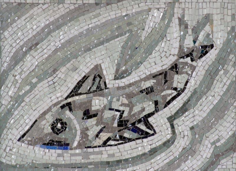 Symbole de poissons du christianisme image stock