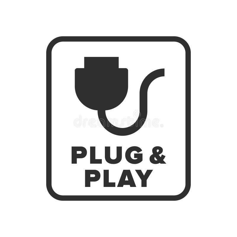 Symbole de prise et de jeu photo stock