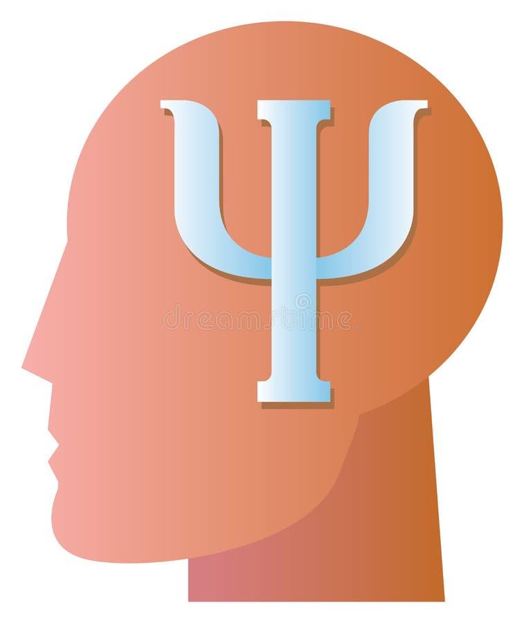 Symbole de psychiatrie illustration de vecteur
