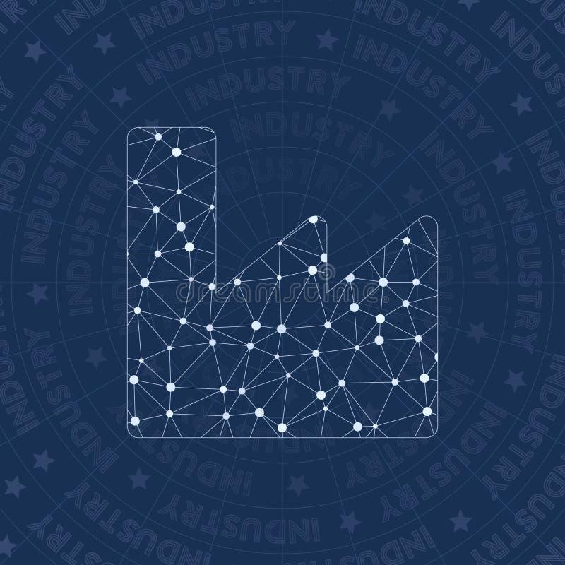 Symbole de réseau d'industrie illustration libre de droits