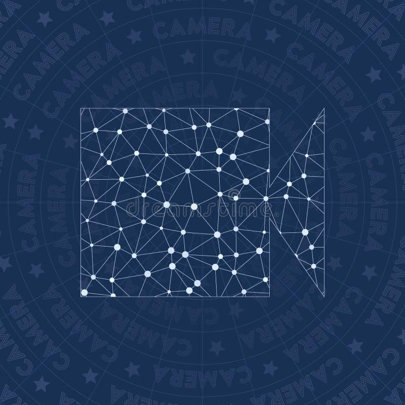 Symbole de réseau de Videocam illustration libre de droits