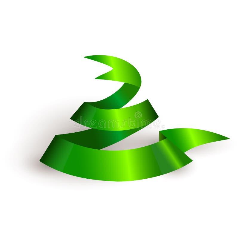 Symbole de serpent de bande de Noël 2013. illustration libre de droits