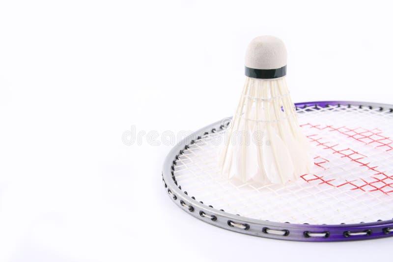symbole de sport de badminton photos libres de droits