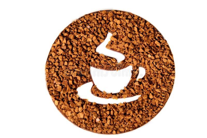 Symbole de temps de café photos libres de droits