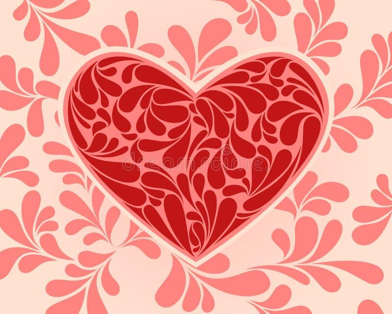 Symbole de vecteur du coeur avec des remous photos libres - Coeur avec des photos ...