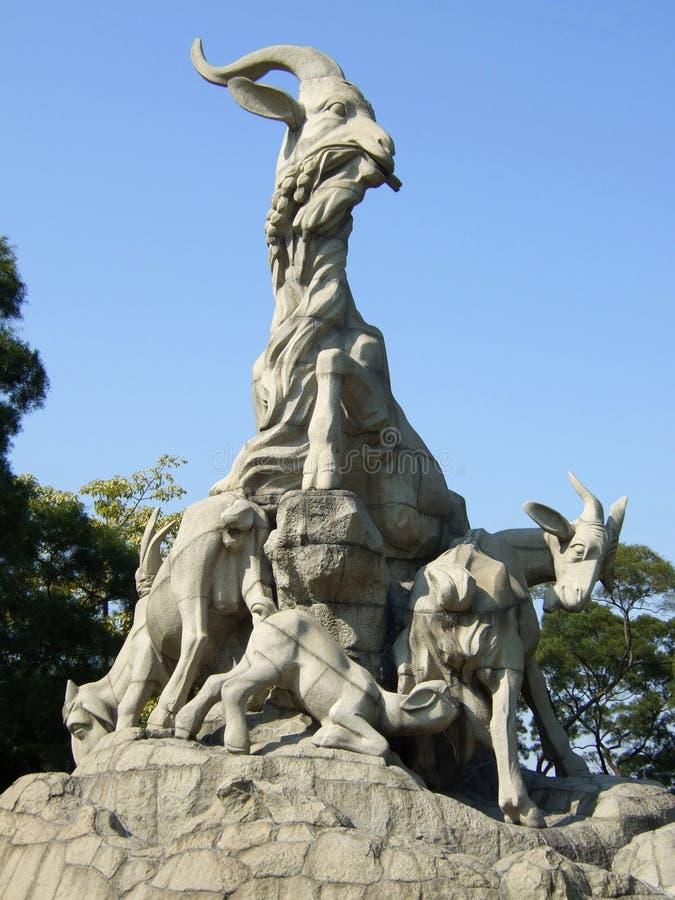 Symbole de ville de Guangzhou images libres de droits