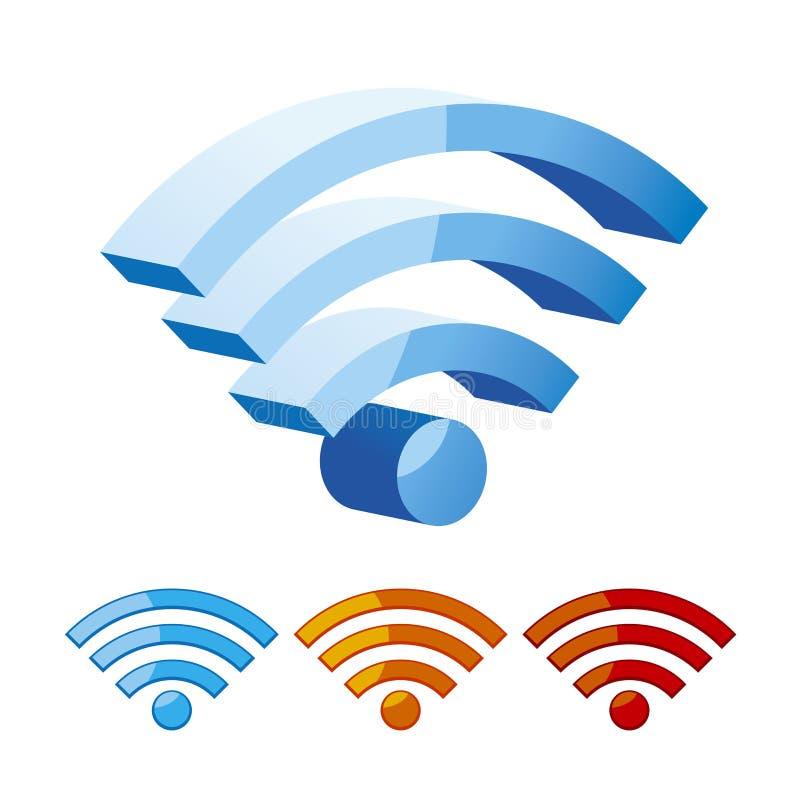 Symbole de Wifi illustration libre de droits