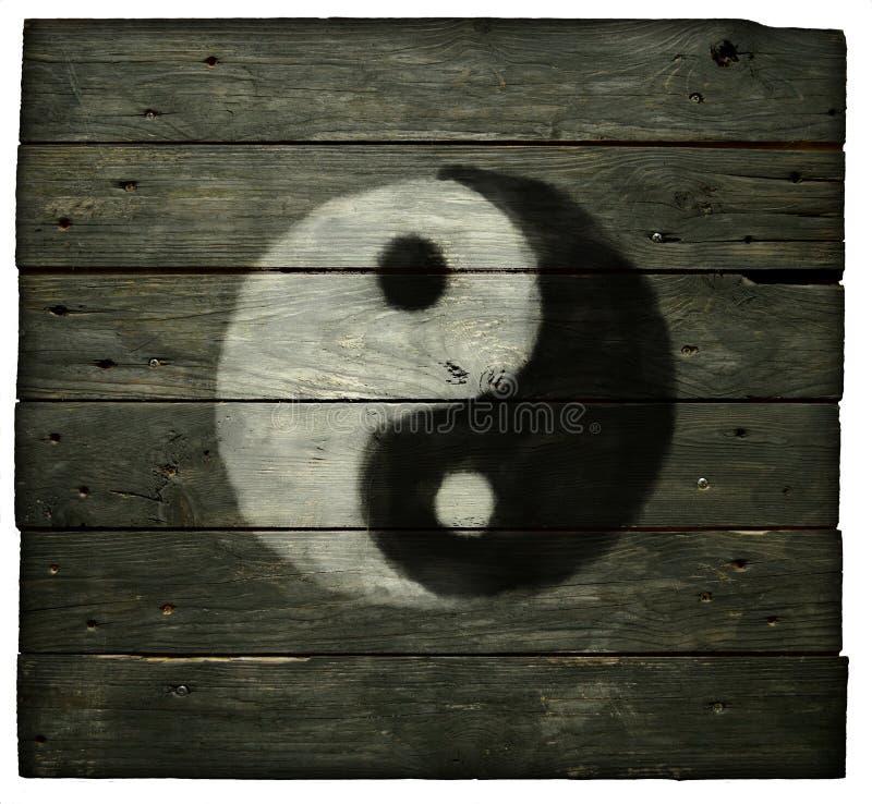 Symbole de Yin Yang photographie stock
