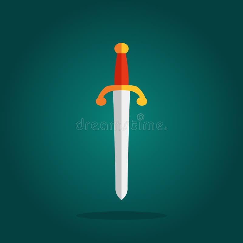 Symbole der Messer-scharfen Klingen vektor abbildung