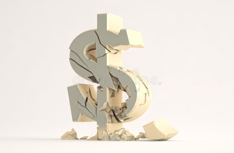 Symbole Dollar Images stock