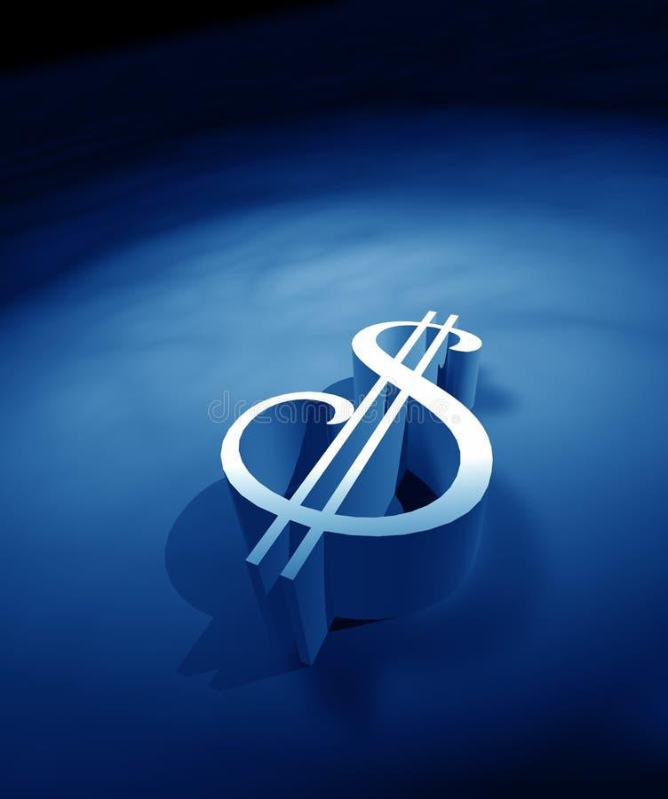 Symbole du dollar illustration de vecteur