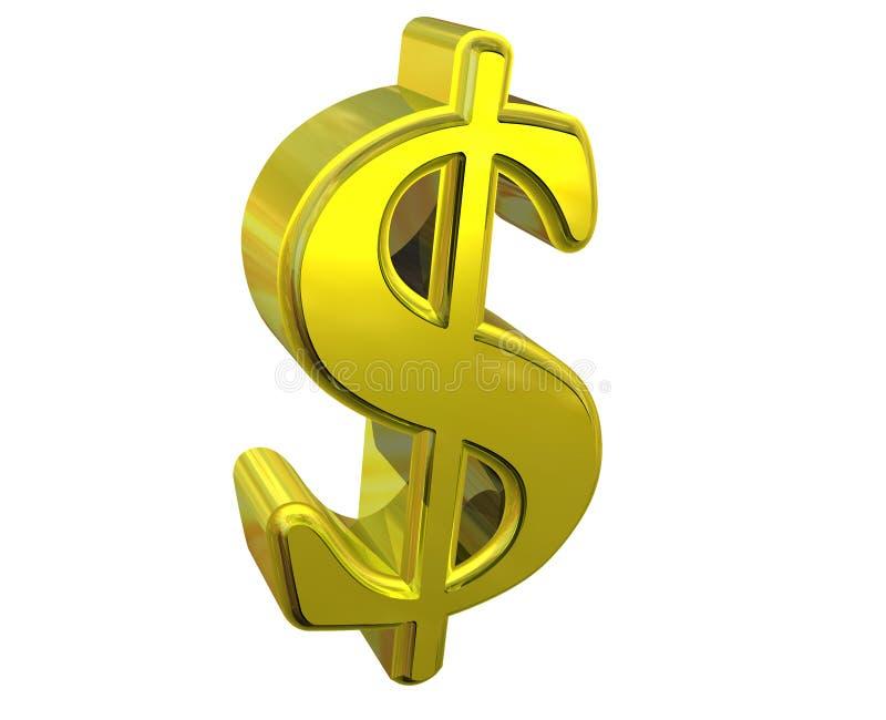 Symbole Du Dollar Illustration Stock. Illustration Du
