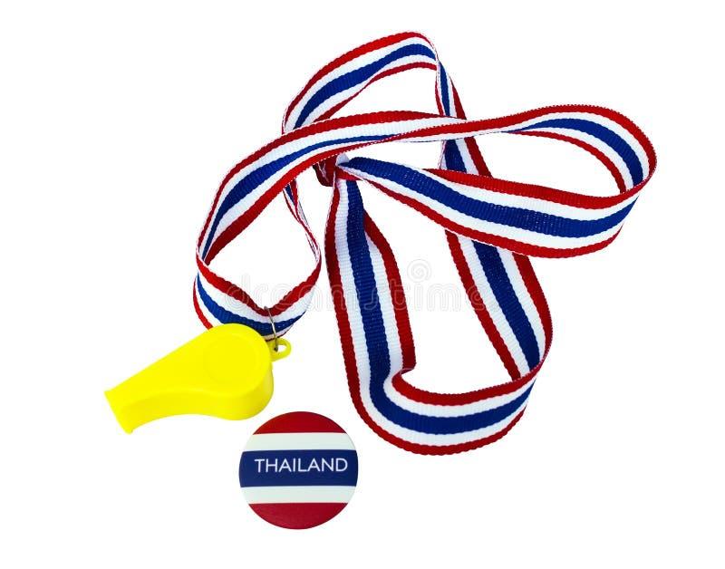 Symbole du protestataire pour reformer la Thaïlande image libre de droits