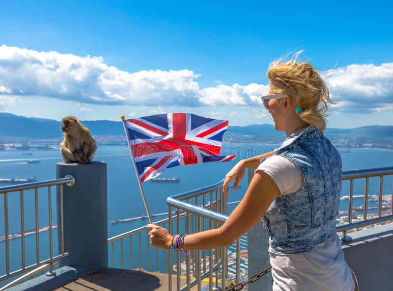 Symbole Gibraltar zdjęcie royalty free