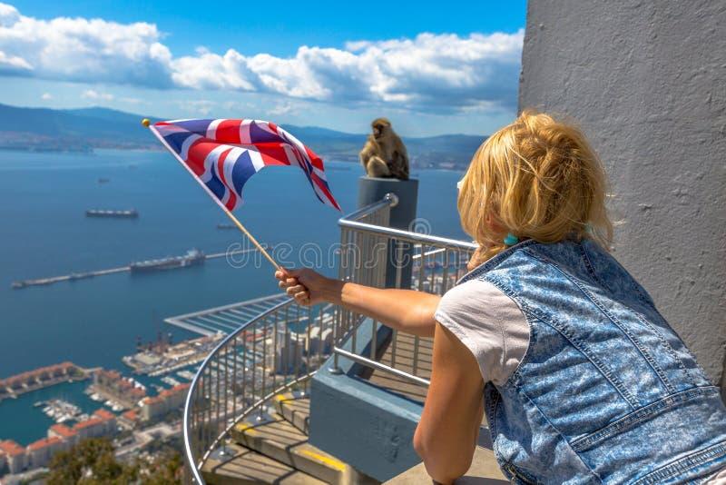 Symbole Gibraltar obraz stock