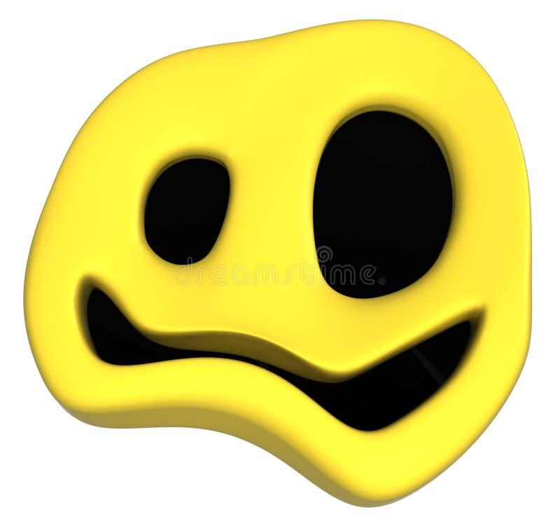 Symbole heureux impair illustration libre de droits