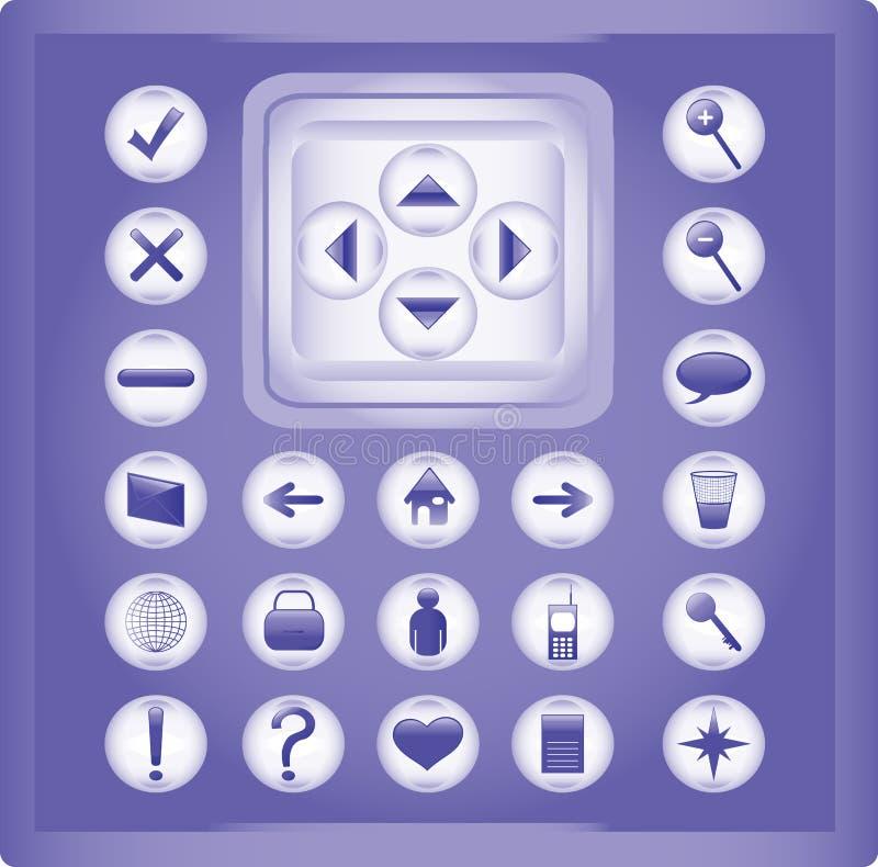 symbole ilustracyjne ilustracja wektor