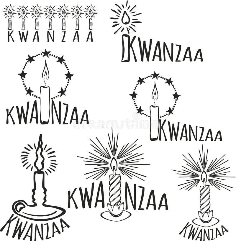 Symbole Kwanzaa ilustracja wektor
