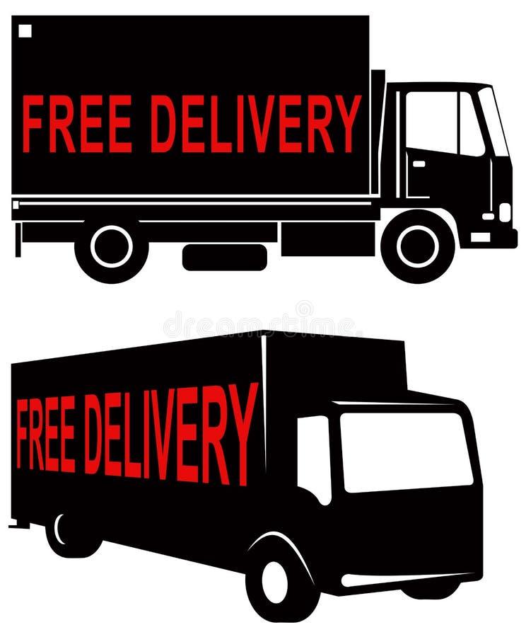 Symbole libre de la distribution illustration de vecteur