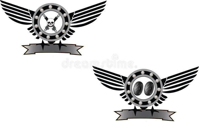 Symbole mécanique illustration de vecteur