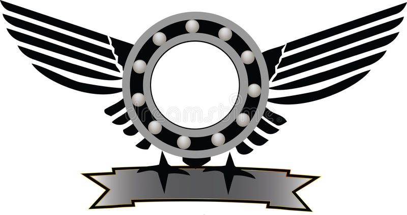 Symbole mécanique illustration libre de droits