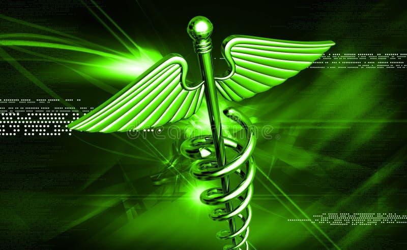 Symbole médical illustration stock