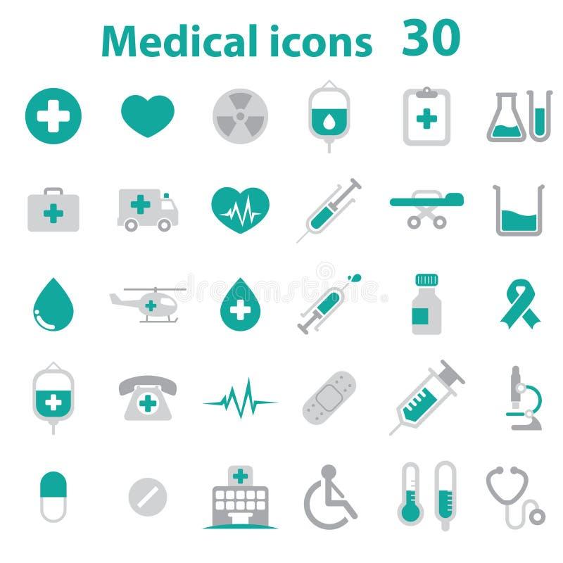 symbole medycznych ilustracja wektor