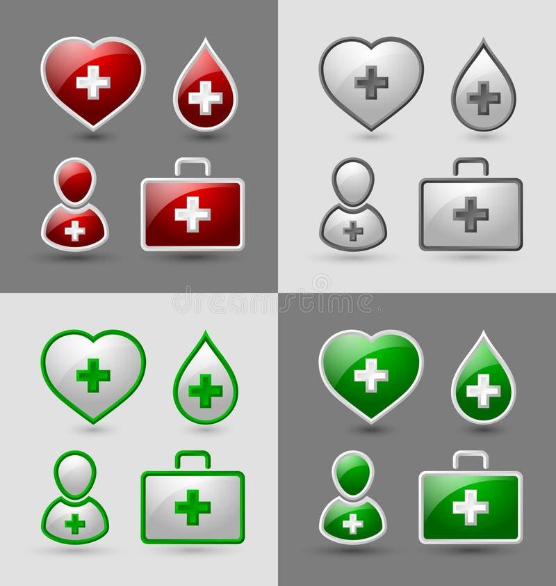 symbole medycznych ilustracji