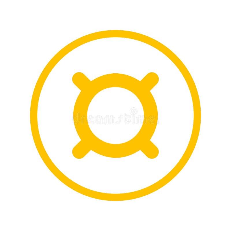 Symbole monétaire générique illustration libre de droits