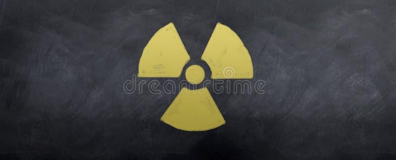 Symbole nucléaire images stock