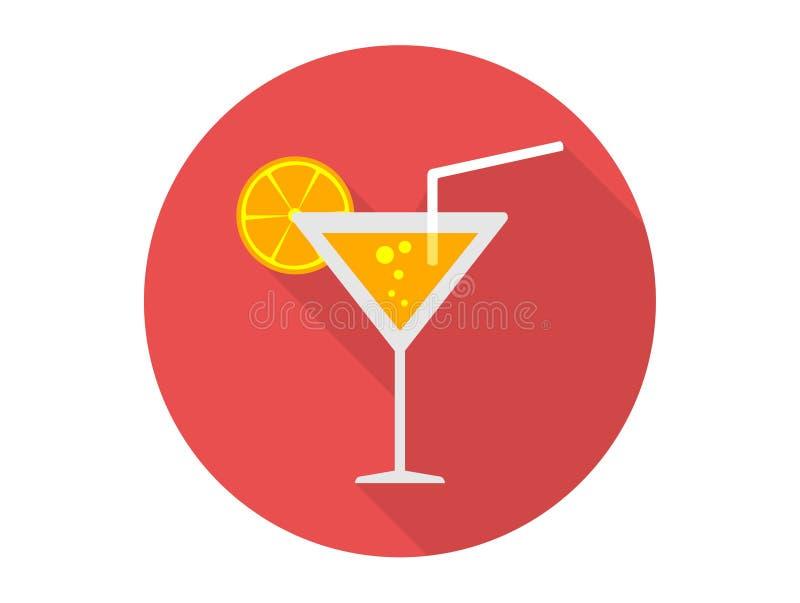Symbole orange de signe d'icône de vecteur illustration stock