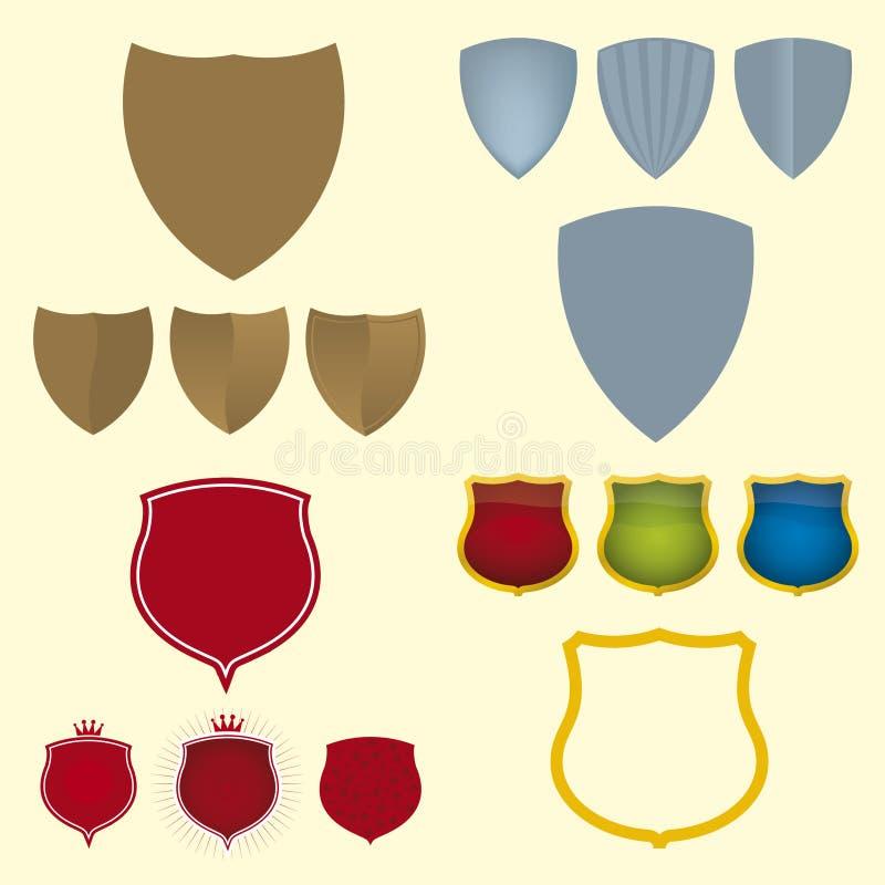 symbole osłony wektora