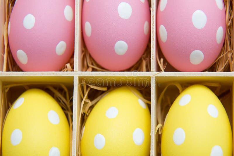 Symbole peint d'oeufs-un de Pâques photo libre de droits