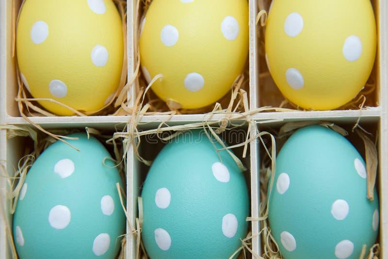 Symbole peint d'oeufs-un de Pâques photographie stock libre de droits