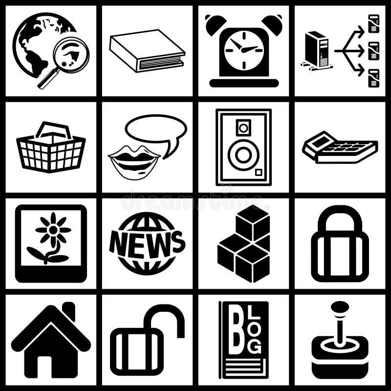 symbole są sieci ilustracja wektor