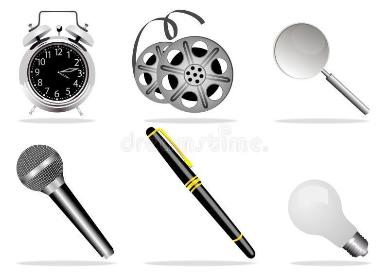symbole sieci ilustracja wektor
