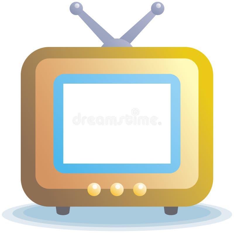 symbole telewizji wektora ilustracji