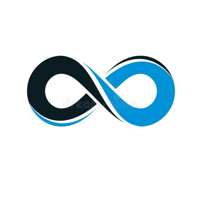 Symbole vectoriel Endless Infinity Loop illustration libre de droits