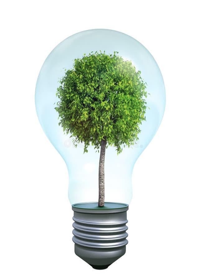 symbole vert d'énergie illustration de vecteur