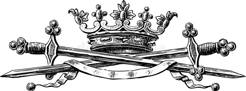 Symbole władza ilustracji