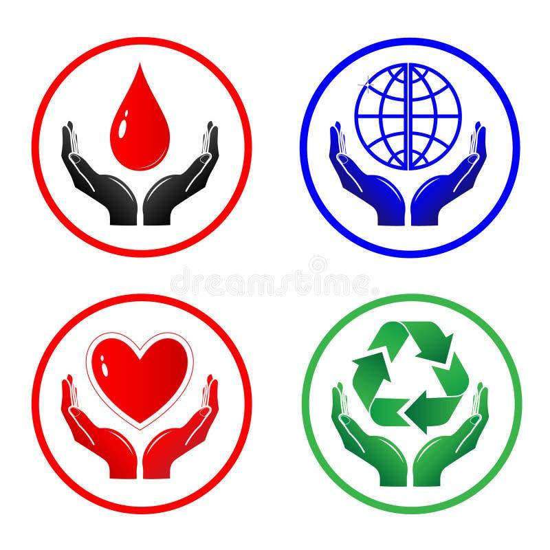 symbole wektorowe ilustracja wektor