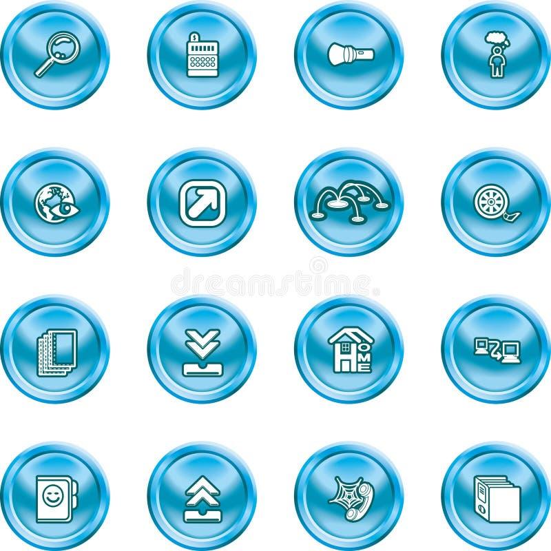 symbole wymyślić stronę ilustracji