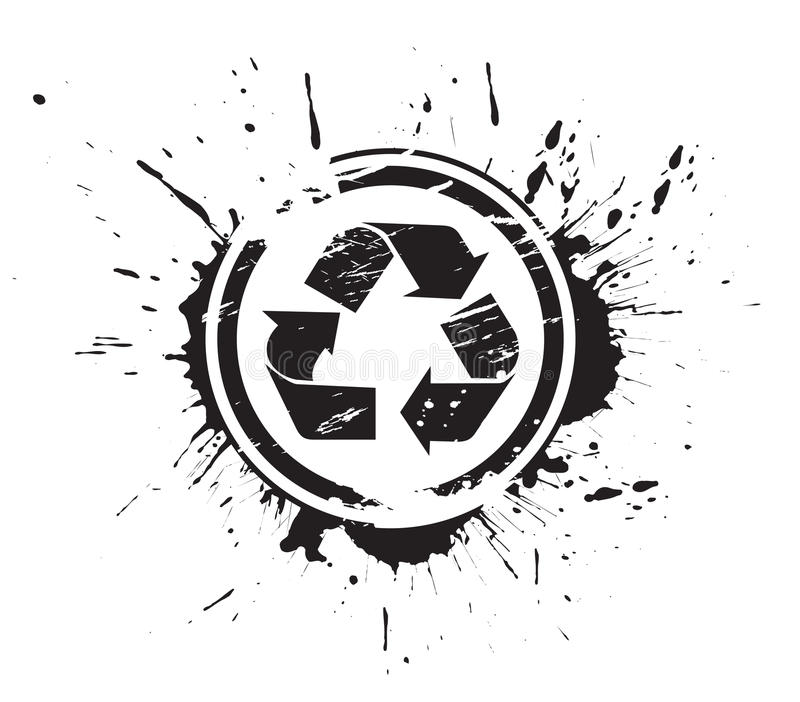 symbolen återanvänder vektor illustrationer
