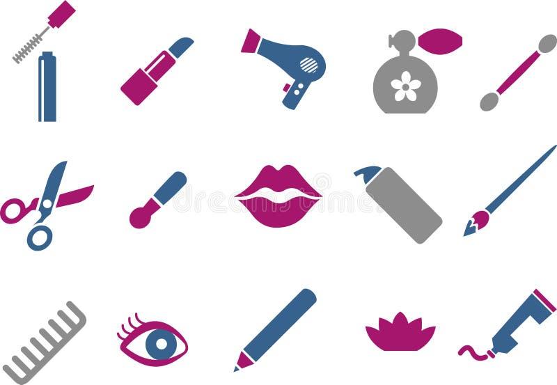 symbolen gör aktivering royaltyfri illustrationer