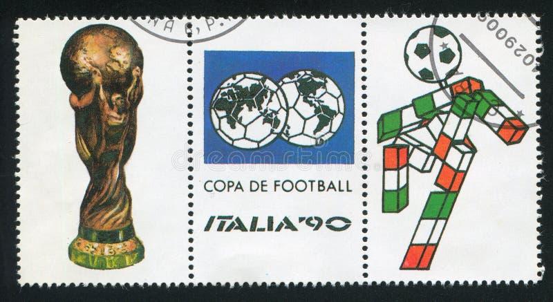 Symbolen van het Kampioenschap van de Wereldvoetbal in Italië royalty-vrije stock fotografie