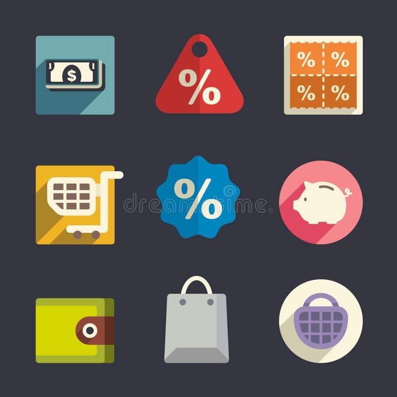 Download Symboler För Affärstemalägenhet Vektor Illustrationer - Illustration av folk, affär: 37347683