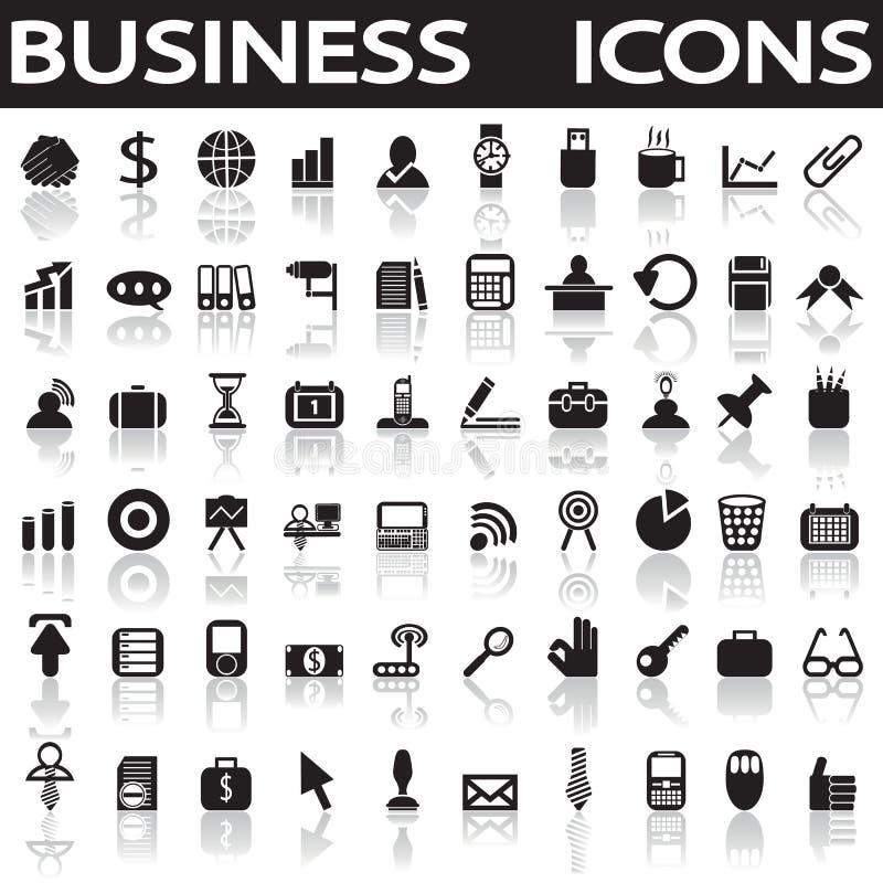 symboler för ai-affär cs2 eps inkluderar royaltyfri illustrationer