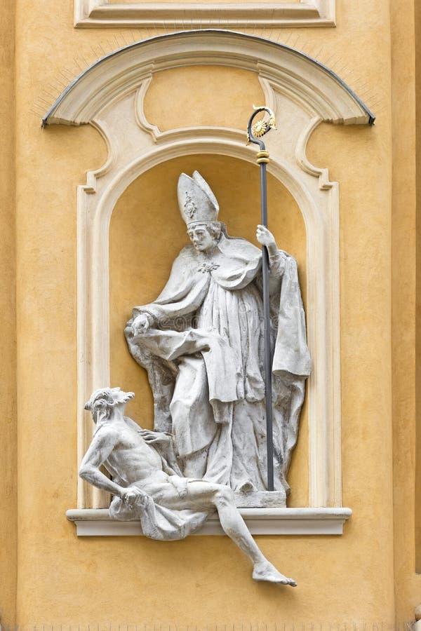 symboler för konstmartin saint royaltyfria foton